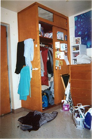 This Is A Pic Of My Dresser Drawers And My Closet.